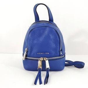 Michael Kors Mini XS Rhea Backpack Purse Crossbody